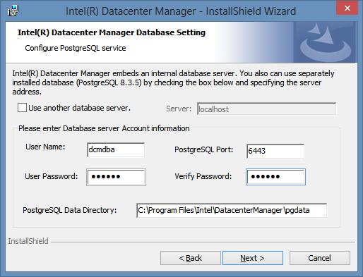 Доступ к серверу базы данных